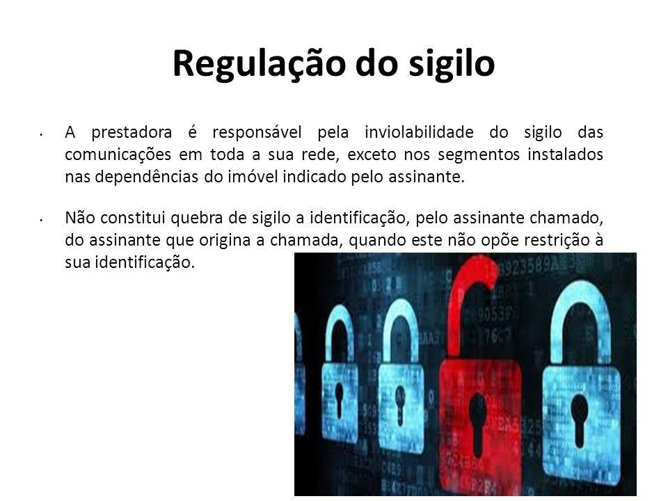 Regulação do sigilo