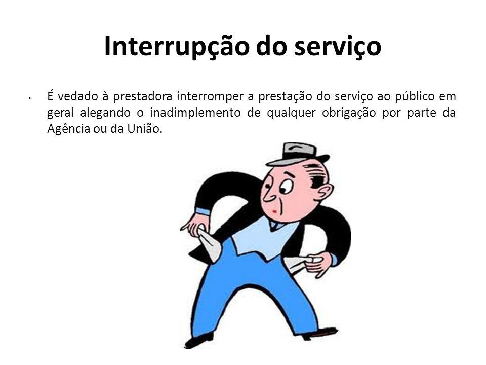 Interrupção do serviço