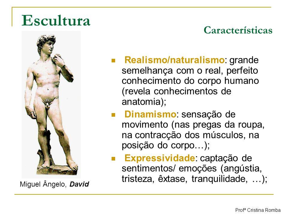 Escultura Características