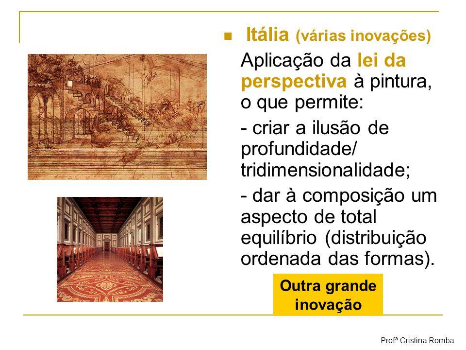 Itália (várias inovações)