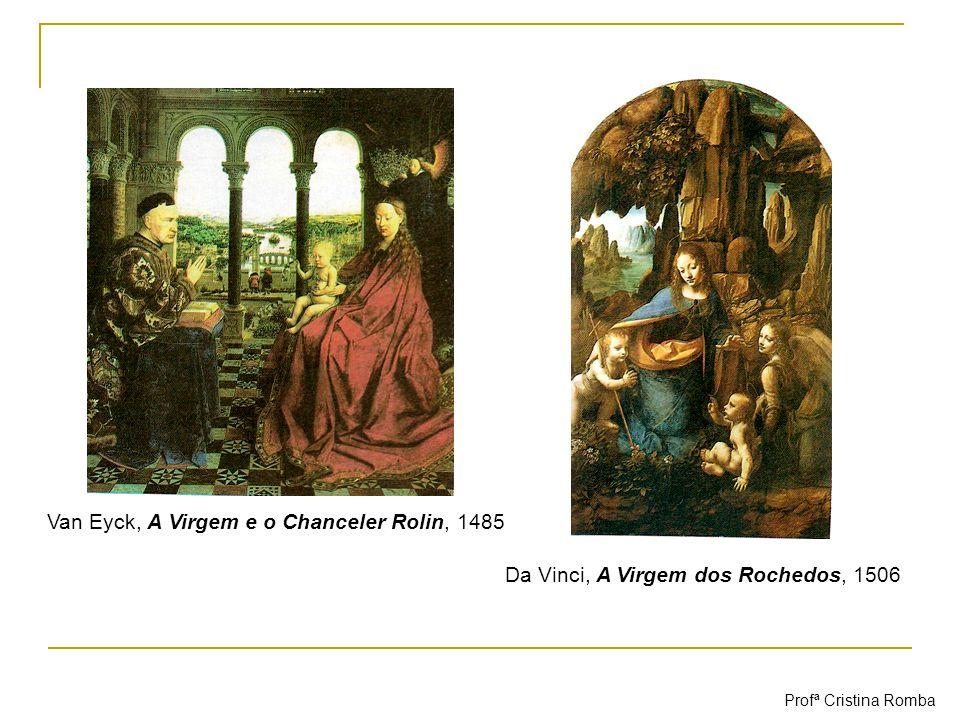 Van Eyck, A Virgem e o Chanceler Rolin, 1485
