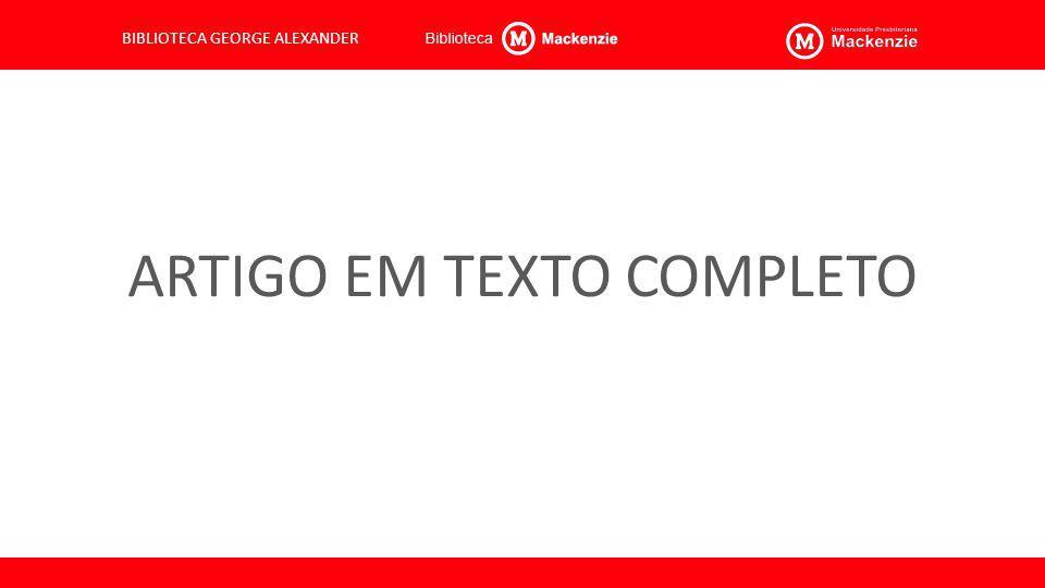 ARTIGO EM TEXTO COMPLETO