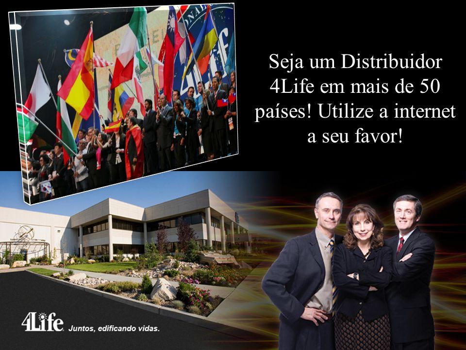 Seja um Distribuidor 4Life em mais de 50 países