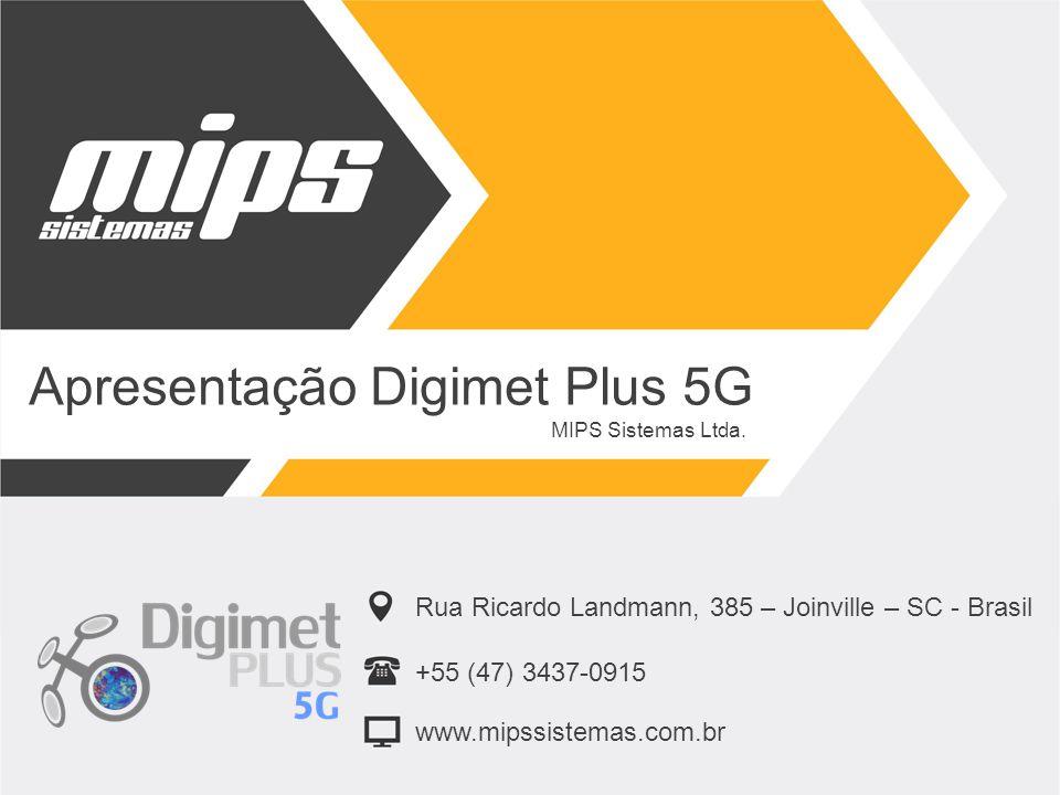 Apresentação Digimet Plus 5G