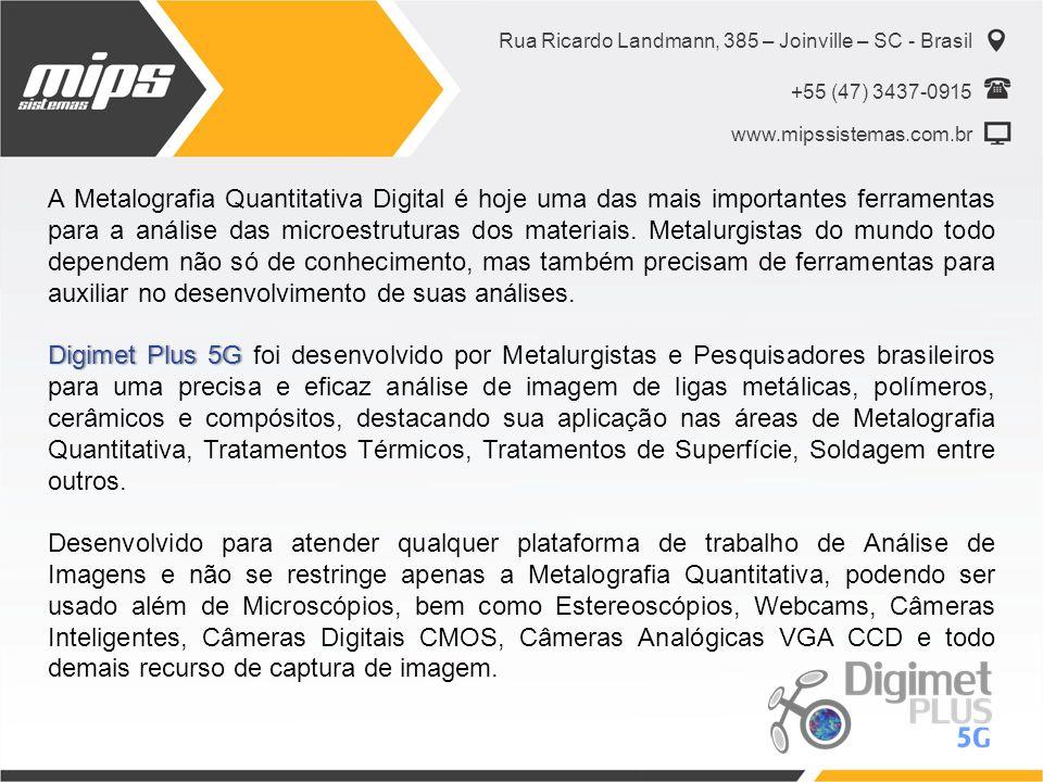 Rua Ricardo Landmann, 385 – Joinville – SC - Brasil