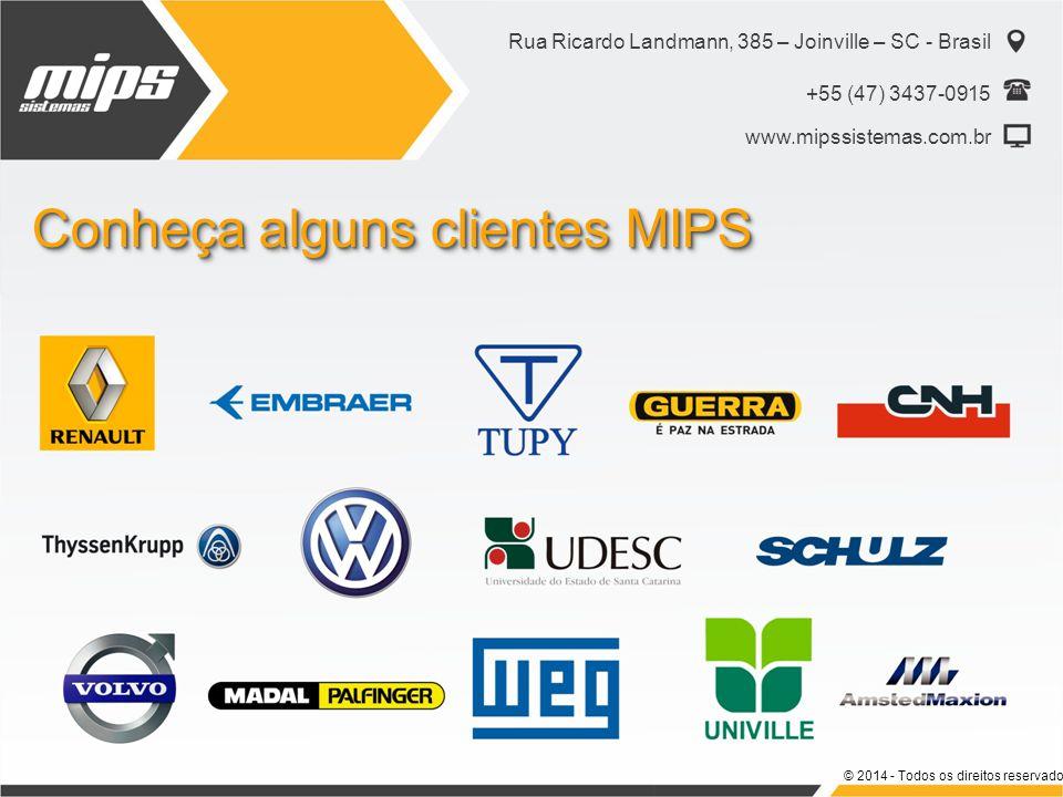 Conheça alguns clientes MIPS