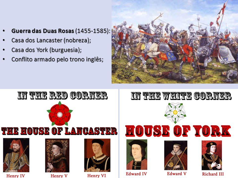 Guerra das Duas Rosas (1455-1585):