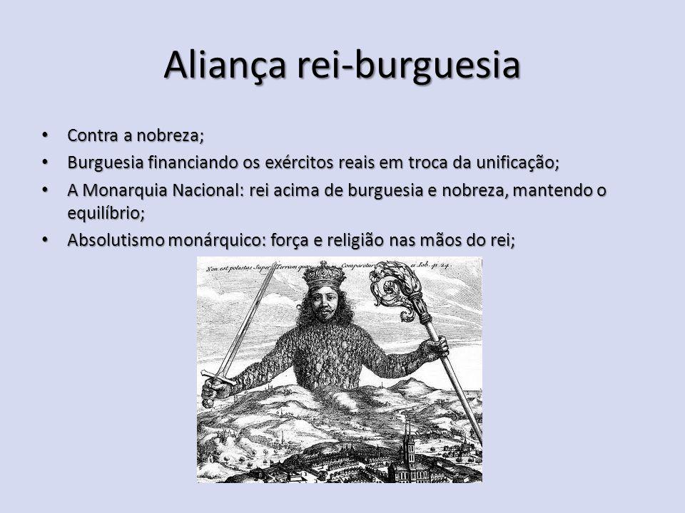 Aliança rei-burguesia
