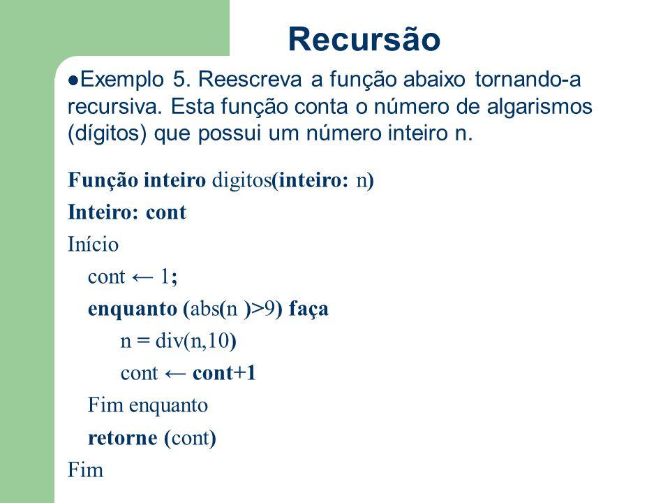 Recursão