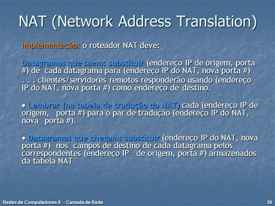 NAT (Network Address Translation)