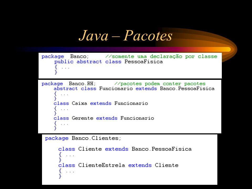 Java – Pacotes