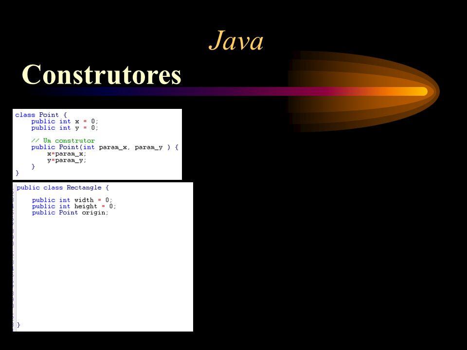 Java Construtores