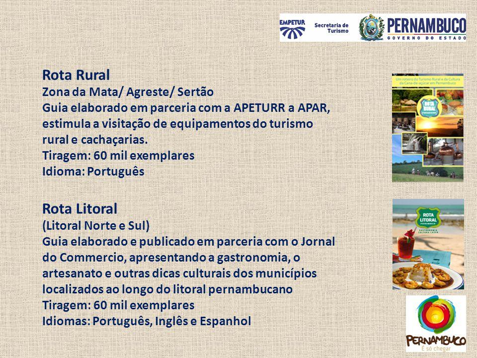 Rota Rural Rota Litoral Zona da Mata/ Agreste/ Sertão