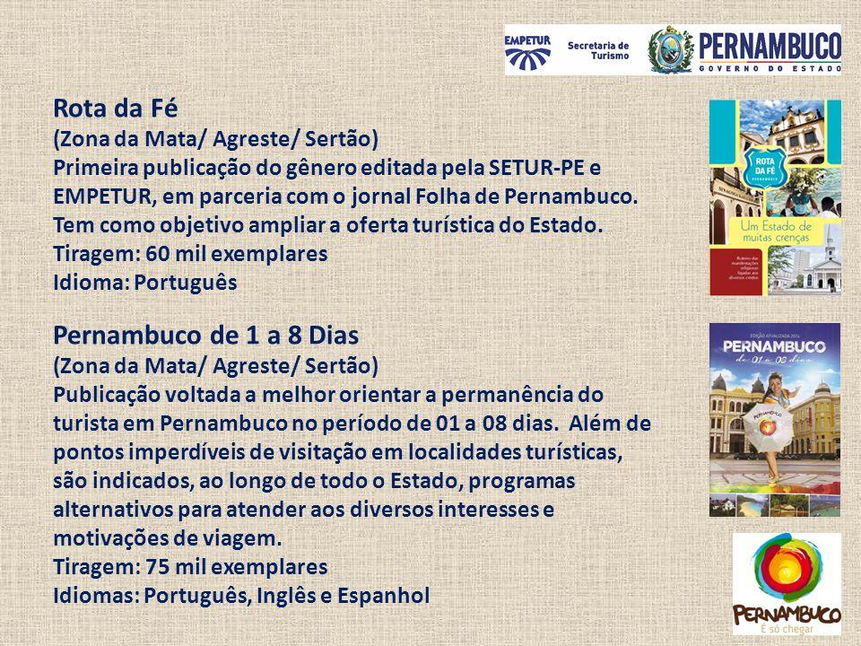 Rota da Fé Pernambuco de 1 a 8 Dias (Zona da Mata/ Agreste/ Sertão)