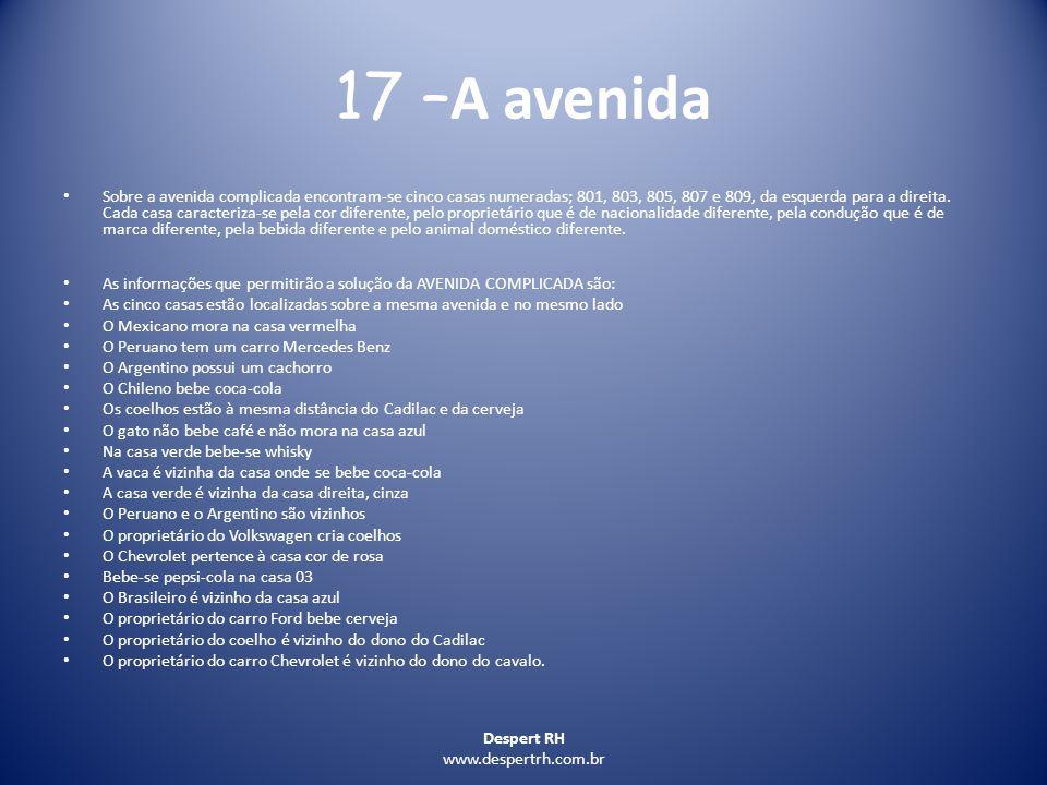 17 –A avenida