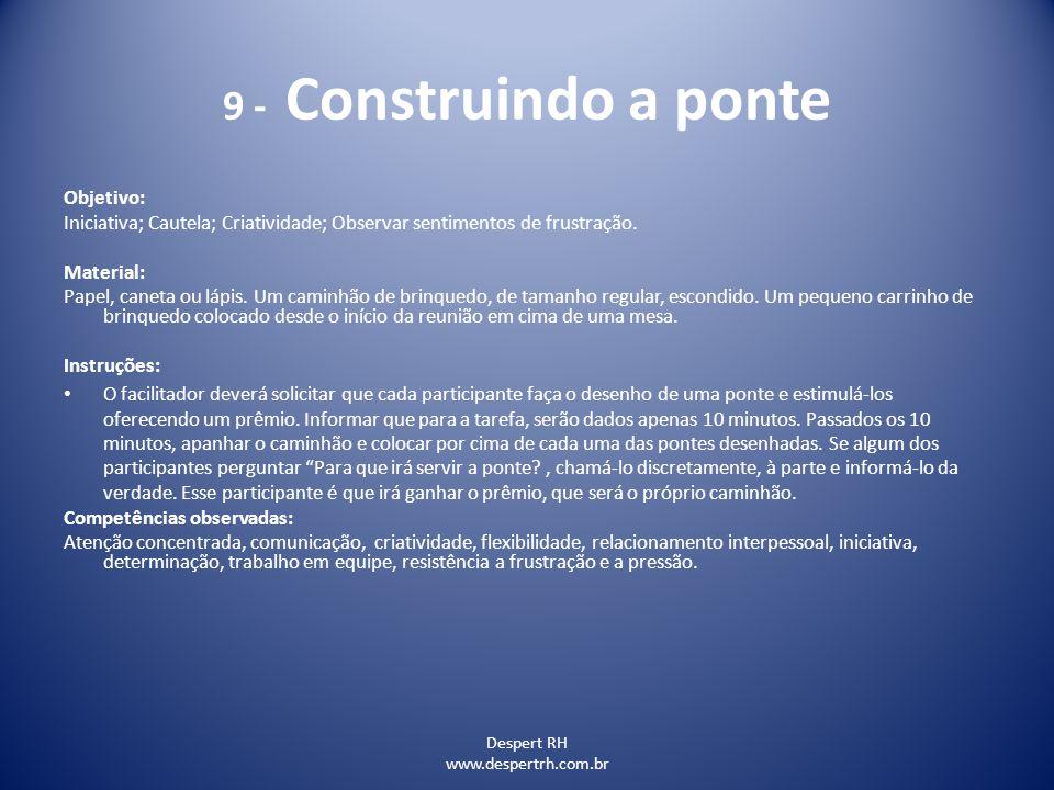 9 - Construindo a ponte Objetivo: