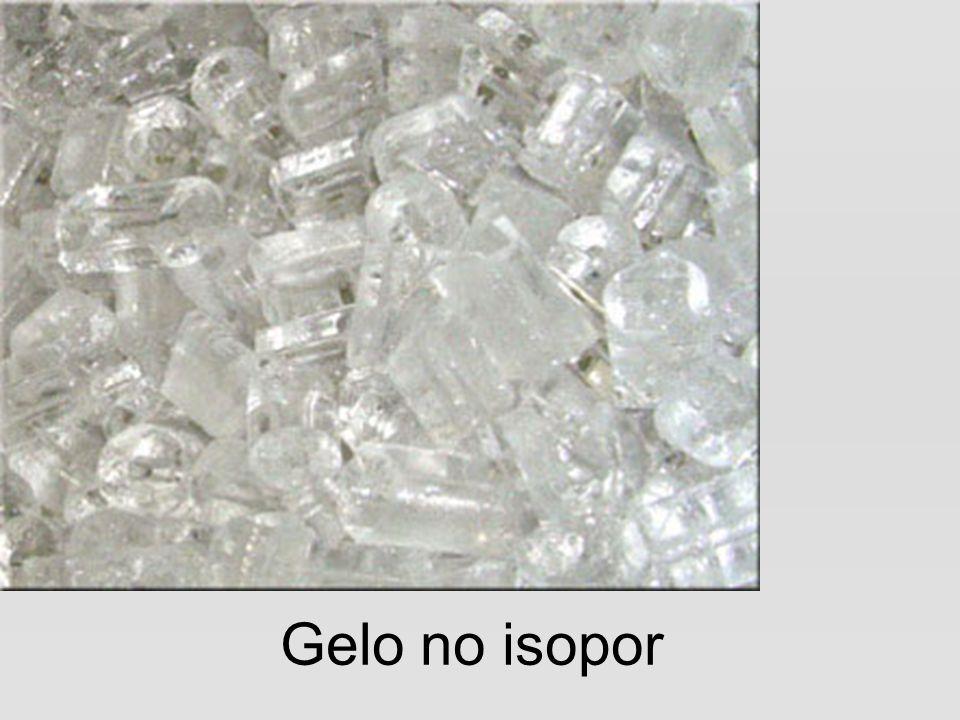 Gelo no isopor