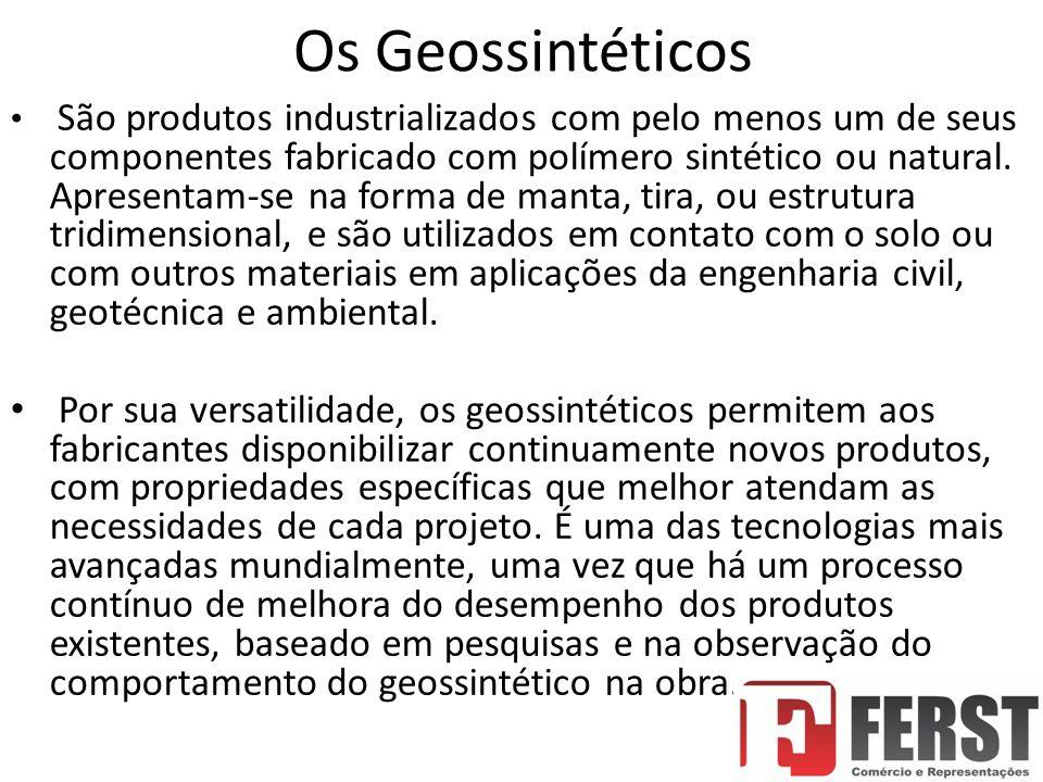 Os Geossintéticos