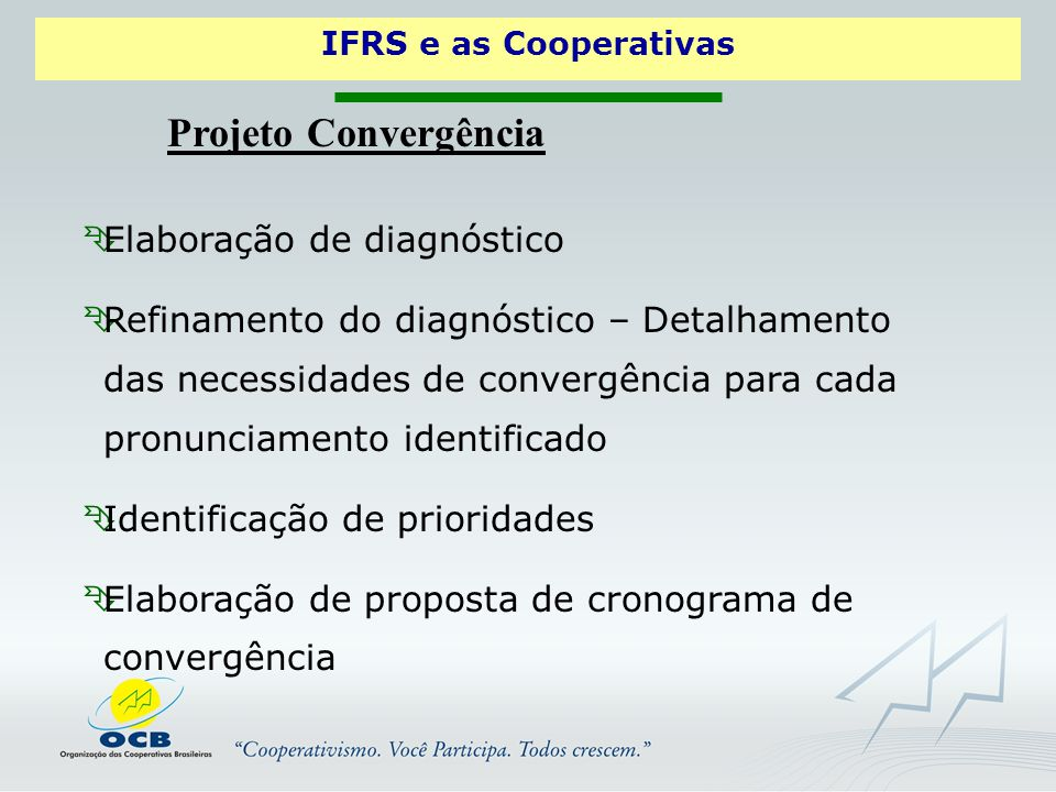Projeto Convergência Elaboração de diagnóstico