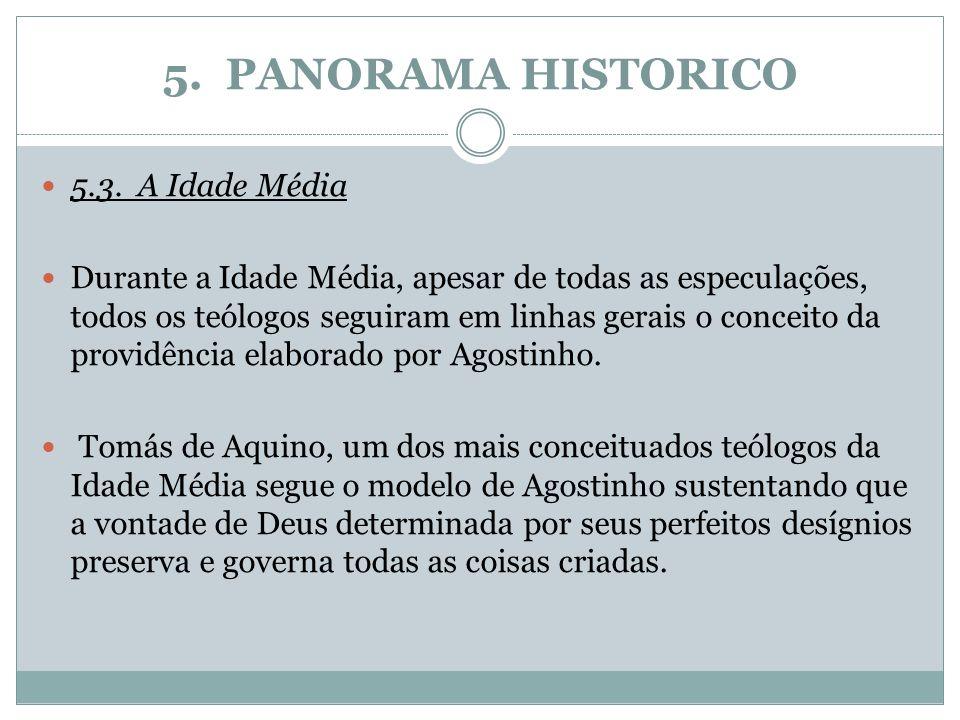 5. PANORAMA HISTORICO 5.3. A Idade Média