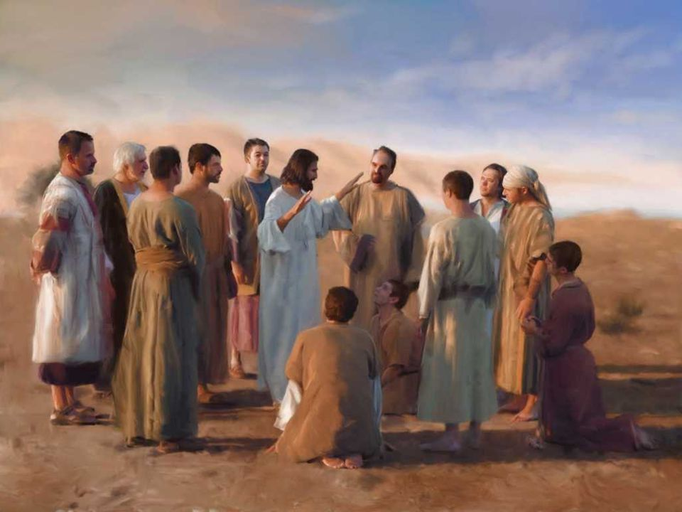 No Evangelho, temos a Missão dos Apóstolos: (Mc 6, 7-13)