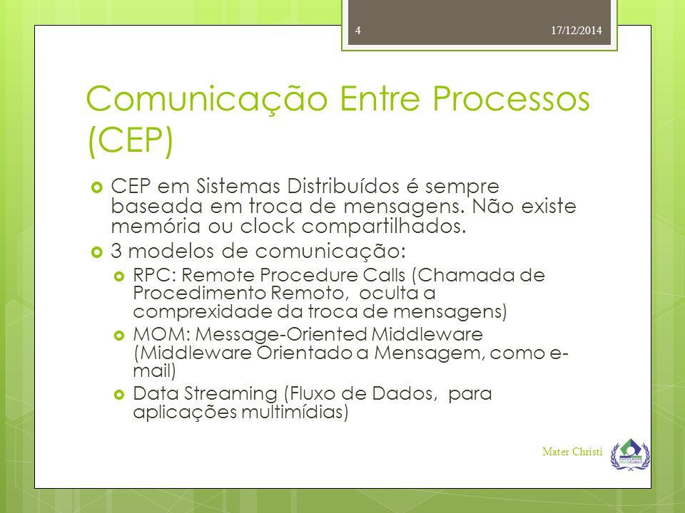 Comunicação Entre Processos (CEP)