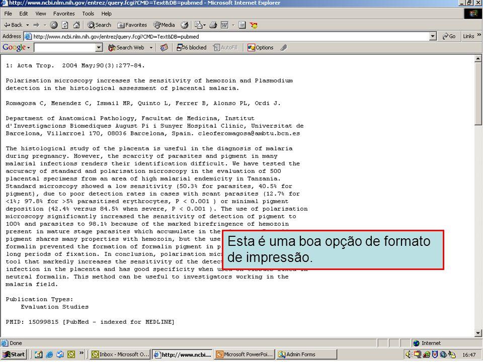 Envio em formato de Texto 2