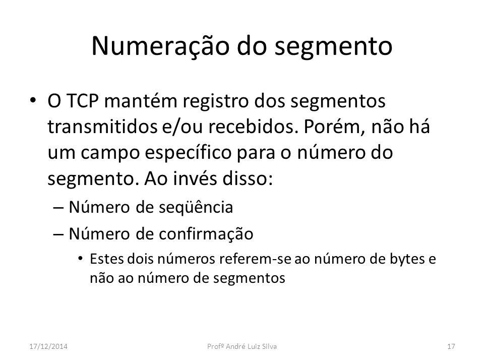 Numeração do segmento
