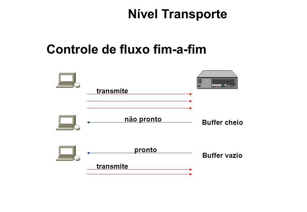 Controle de fluxo fim-a-fim