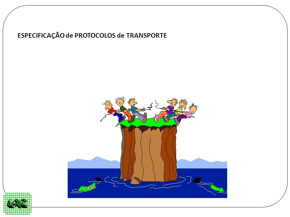 ESPECIFICAÇÃO de PROTOCOLOS de TRANSPORTE