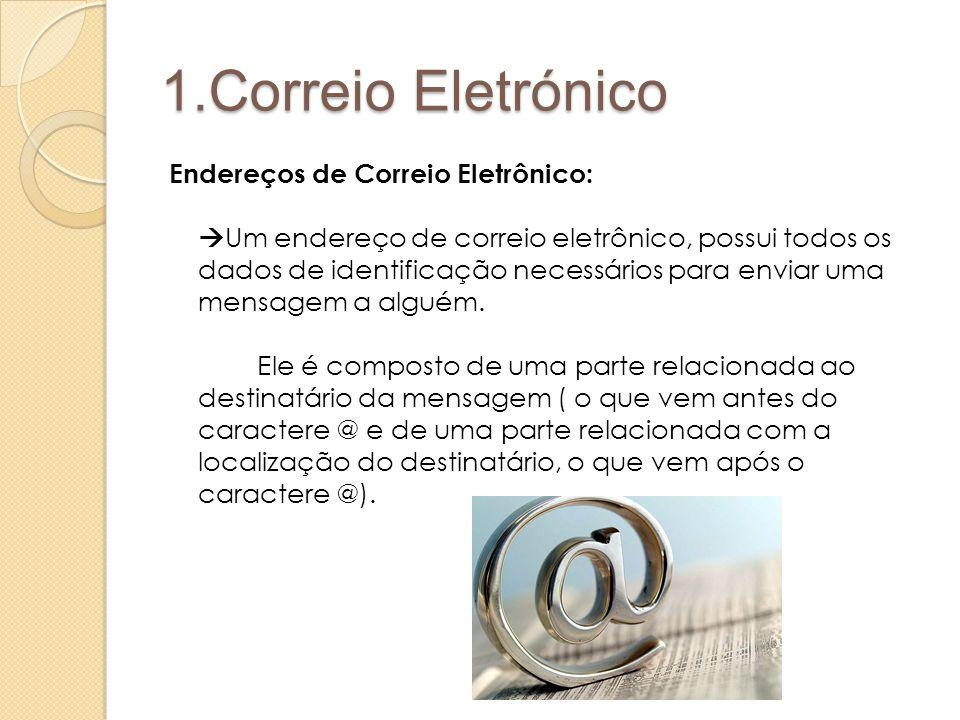 1.Correio Eletrónico