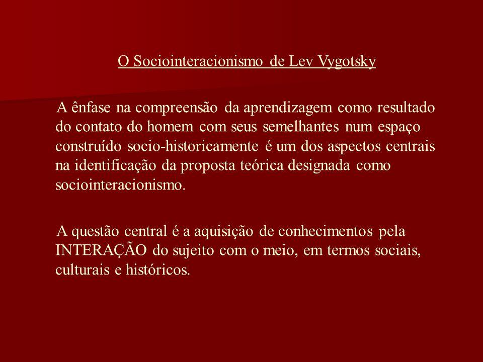 O Sociointeracionismo de Lev Vygotsky