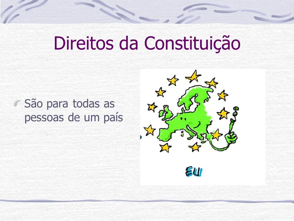 Direitos da Constituição