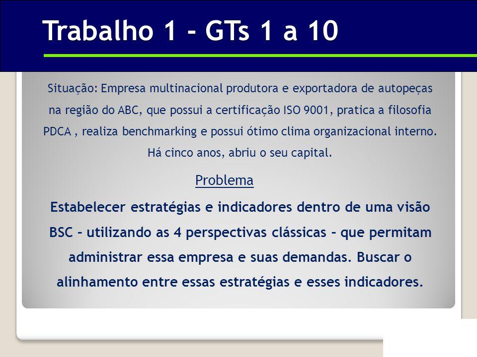 Trabalho 1 - GTs 1 a 10 Problema