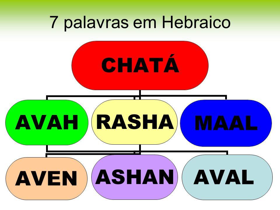 7 palavras em Hebraico
