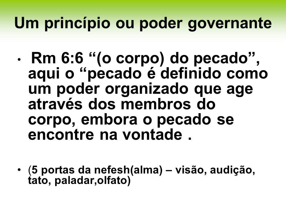 Um princípio ou poder governante