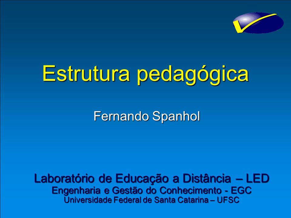 Estrutura pedagógica Fernando Spanhol