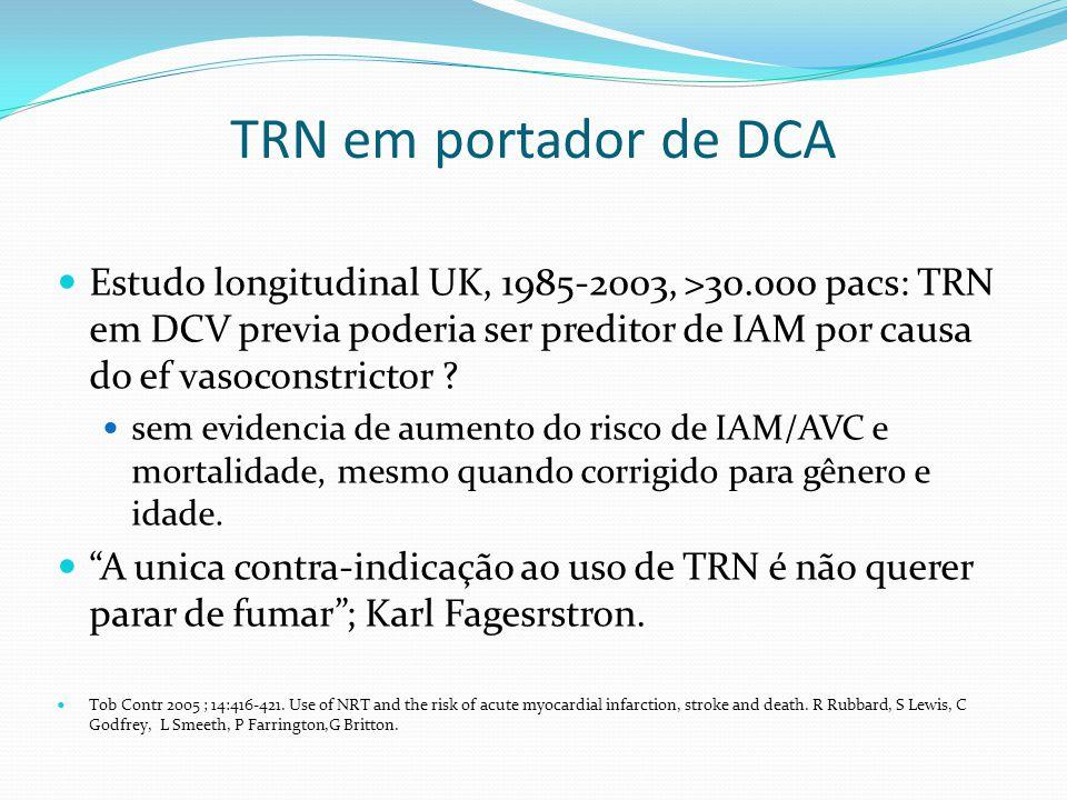 TRN em portador de DCA