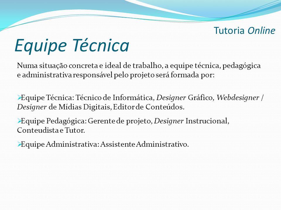 Equipe Técnica Tutoria Online