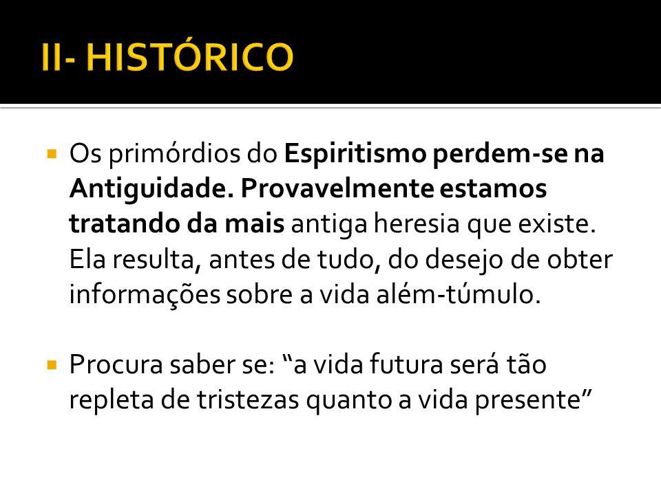II- HISTÓRICO