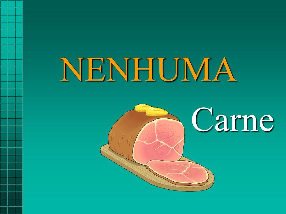 NENHUMA Carne