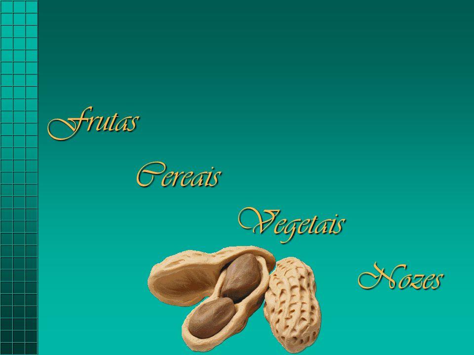 Frutas Cereais Vegetais Nozes