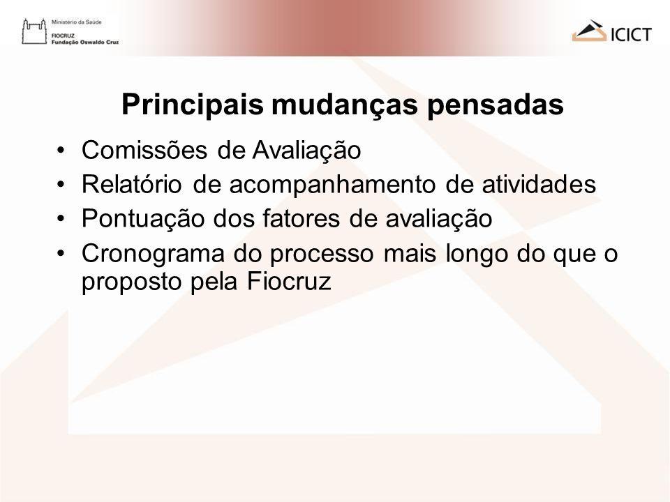 AVALIAÇÃO DE DESEMPENHO 2009 - ICICT