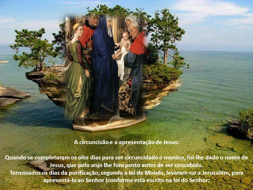 A circuncisão e a apresentação de Jesus: