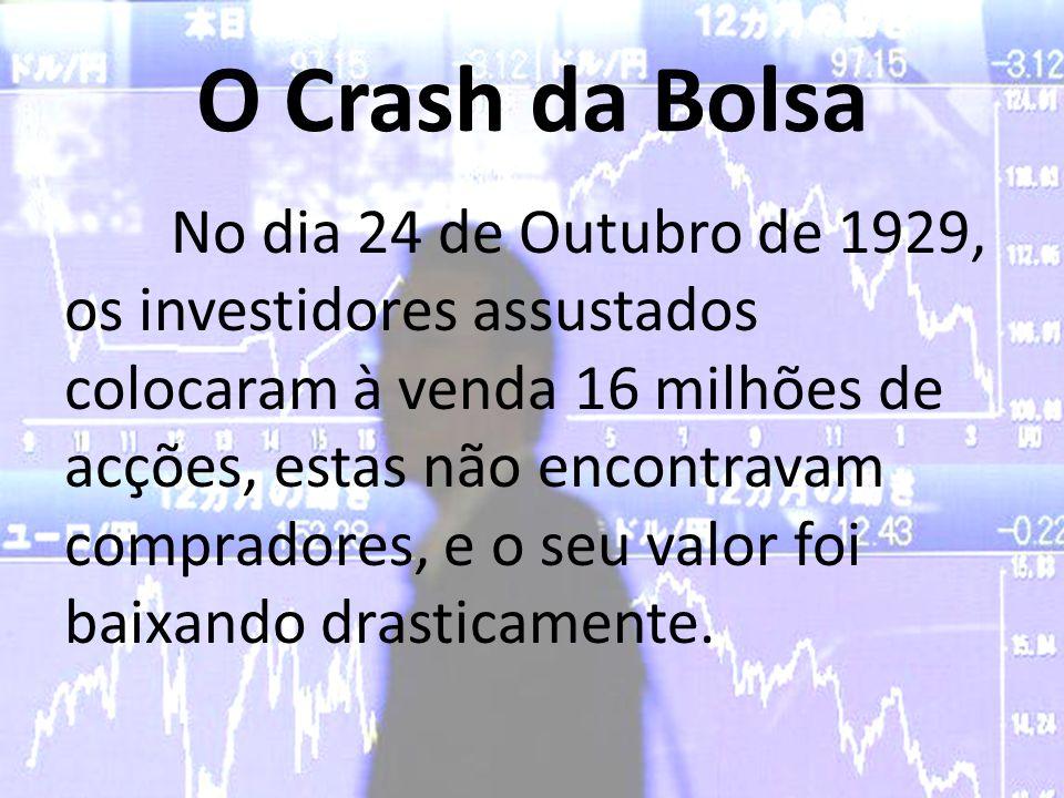 O Crash da Bolsa