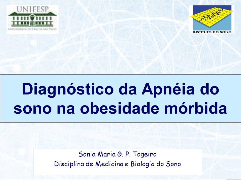 Diagnóstico da Apnéia do sono na obesidade mórbida