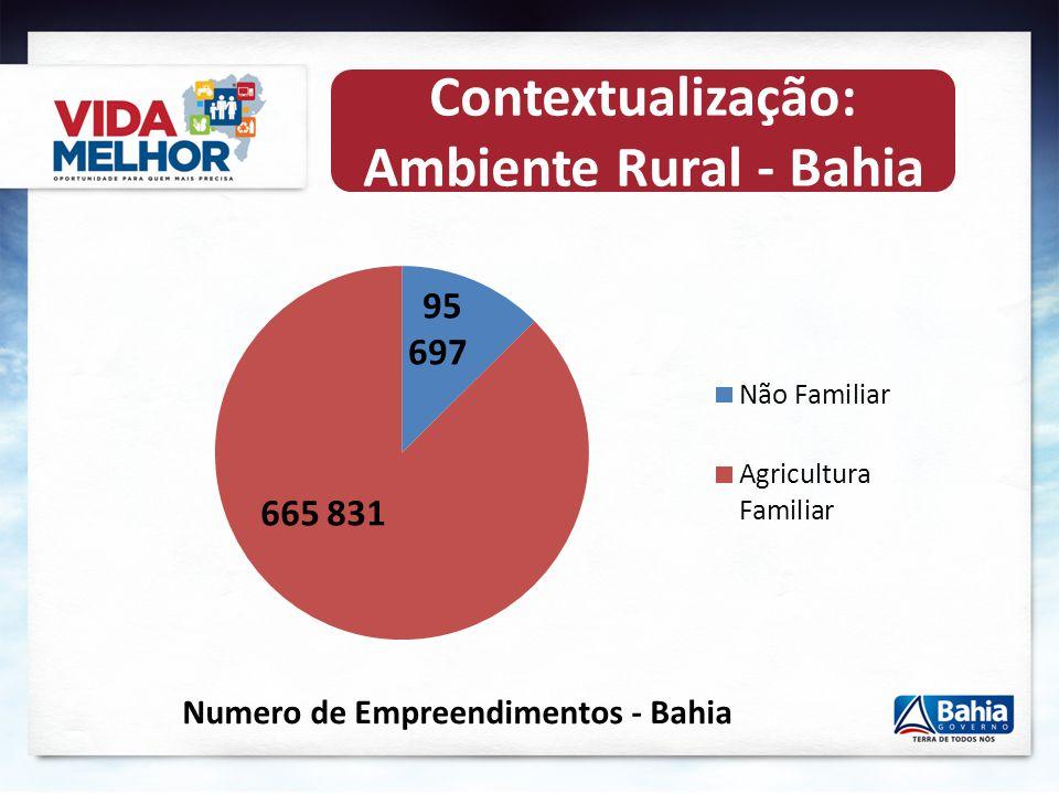 Contextualização: Ambiente Rural - Bahia