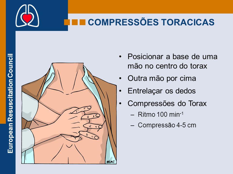 COMPRESSÕES TORACICAS