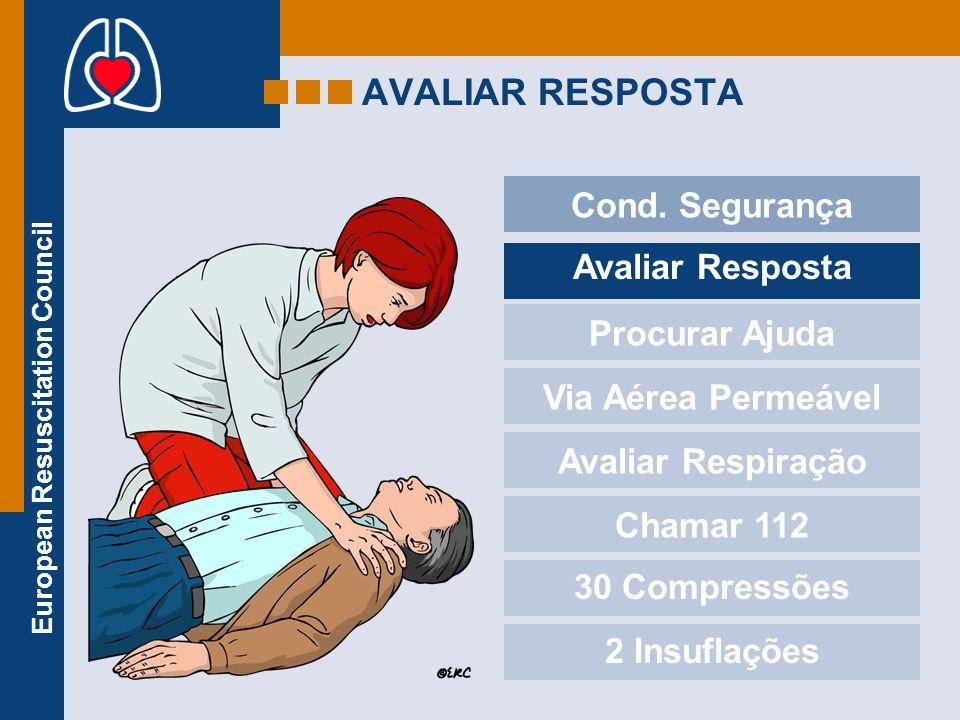 AVALIAR RESPOSTA Cond. Segurança Avaliar Resposta Procurar Ajuda