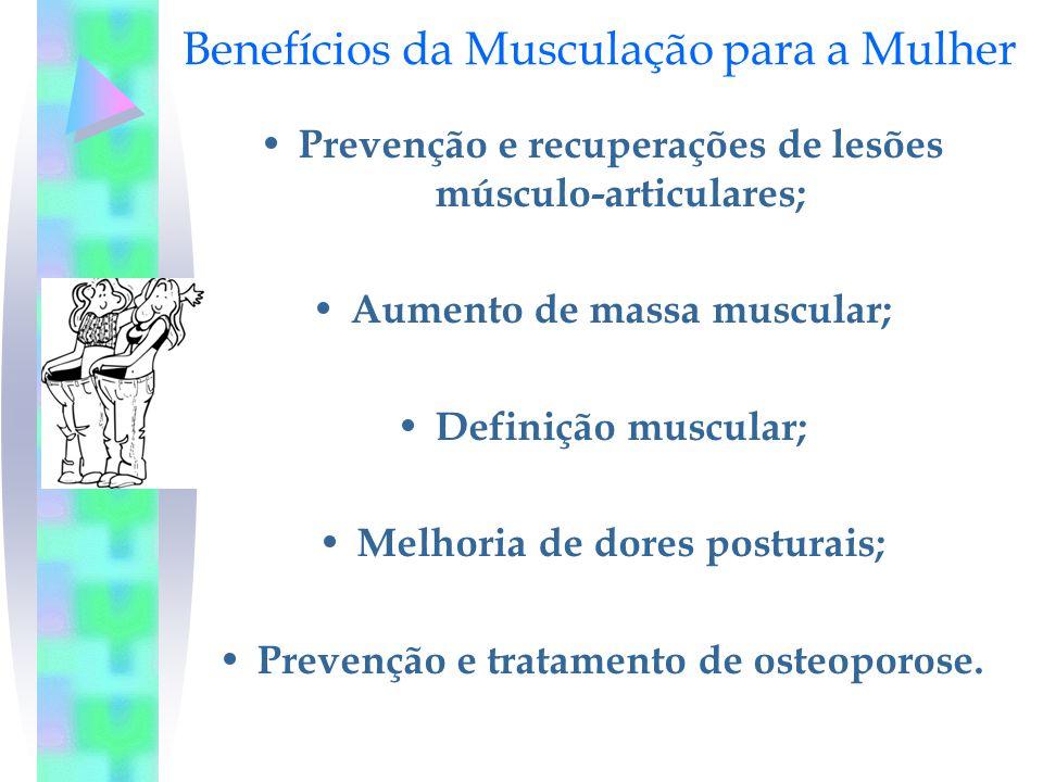Benefícios da Musculação para a Mulher